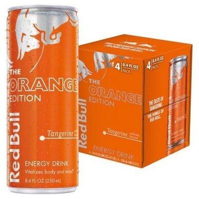 Red Bull Orange 4 Pack