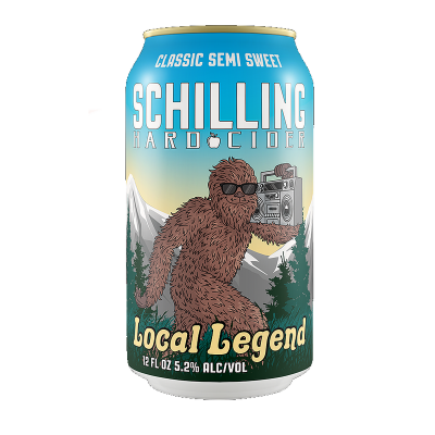 Schilling Local Legend Semi Sweet