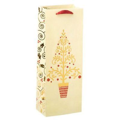 Golden Tree Gift Bag